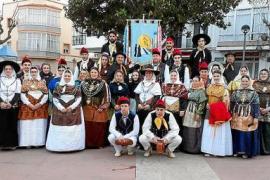 Sa Colla de Buscastell acudió el fin de semana hasta la localidad menorquina de Ferreries