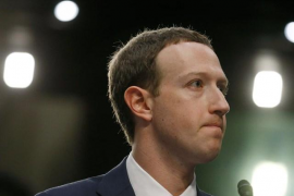 """Zuckerberg pide perdón por la filtración de datos de Facebook y asegura que """"fue un error"""""""