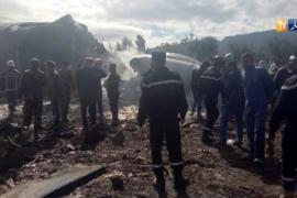 Al menos 257 muertos tras estrellarse un avión militar en Argelia