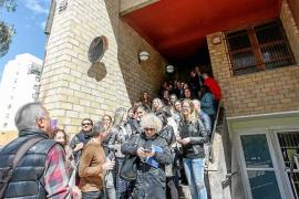 Trabajadores de los juzgados protestan por la falta de medios, los fallos del LexNet y los salarios
