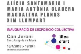 Mañana se inaugura en Can Jeroni la exposición colectiva de artistas de todo Baleares 'Illes d'art 3'