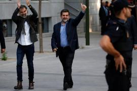 Jordi Sánchez (ANC) y Jordi Cuixart de Ómnion