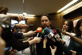 Iglesias avisa a Errejón: «Ni media tontería» en las primarias de Madrid