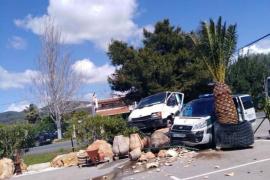 Libertad provisional para el conductor que chocó contra un vehículo de la Guardia Civil y dio positivo en drogas
