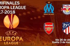 Arsenal-Atlético, semifinal de Liga Europa
