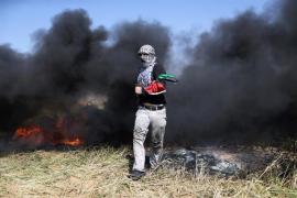 El Ejército israelí vuelve a disparar a varios palestinos que han intentado atravesar la frontera de Gaza