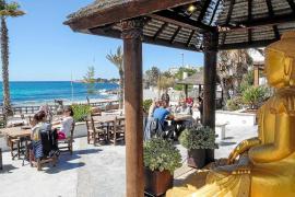 Ambiente favorecido por un turismo tranquilo y familiar en Sant Antoni