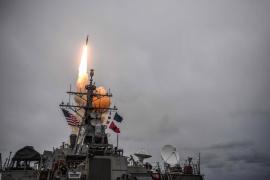 Estados Unidos, Reino Unido y Francia bombardean Siria