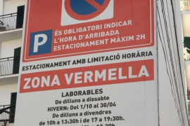 """El PP tilda de """"chapuza"""" la regulación del aparcamiento en Sant Antoni"""