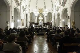 Concierto de la Simfònica de Balears en la Catedral de Ibiza (Fotos: Daniel Espinosa).