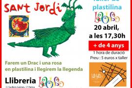 Taller de plastilina especial para Sant Jordi