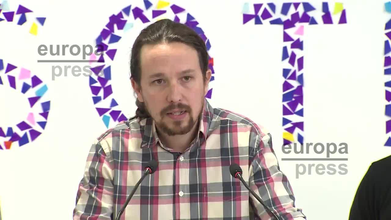 Iglesias mantiene su confianza en Errejón y cierra un acuerdo de unidad en Madrid