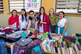 El IES Blanca Dona celebra el Día del Centro (Fotos: M. Sastre)