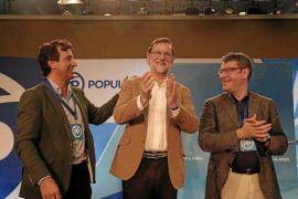 Rajoy alerta en Mallorca del riesgo de «contagio catalán» en Balears