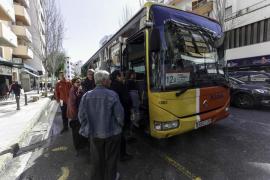 Suspenso al transporte público
