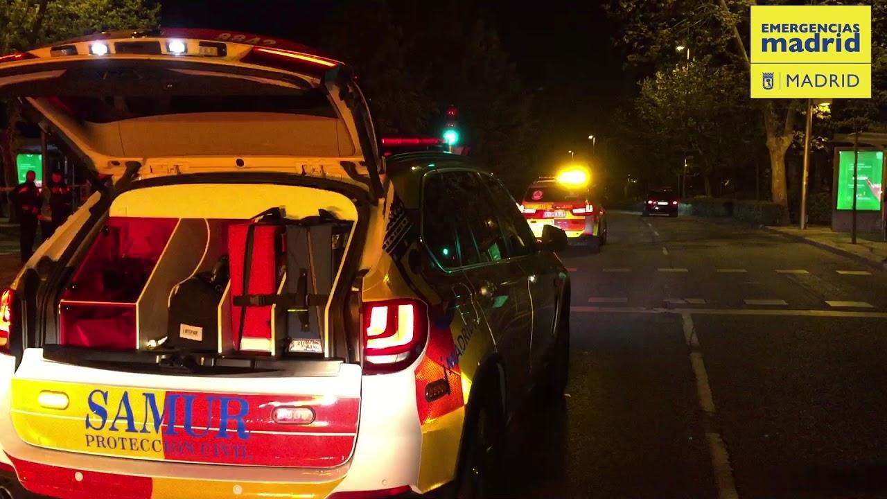 Atropello mortal con fuga en Madrid