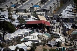 Enfrentamientos entre residentes y solicitantes de asilo en Lesbos