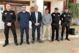 Félix Ramos es el nuevo jefe de la Policía Local de Formentera en sustitución de Joan Mayans