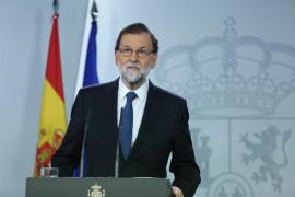 """Rajoy contempla """"acciones legales"""" para evitar el voto delegado de Comín"""