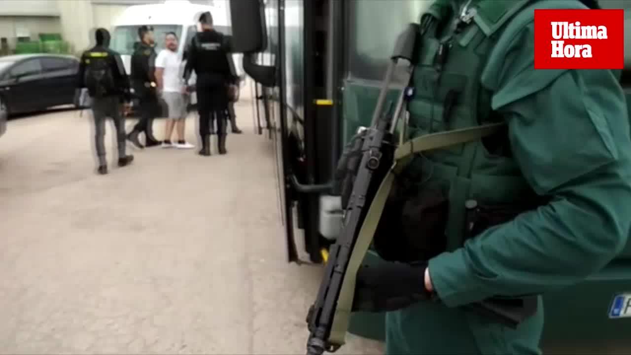 Macrooperación contra los clanes de la droga en Mallorca