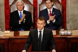 Macron insta a Trump a devolver a EEUU al juego multilateral