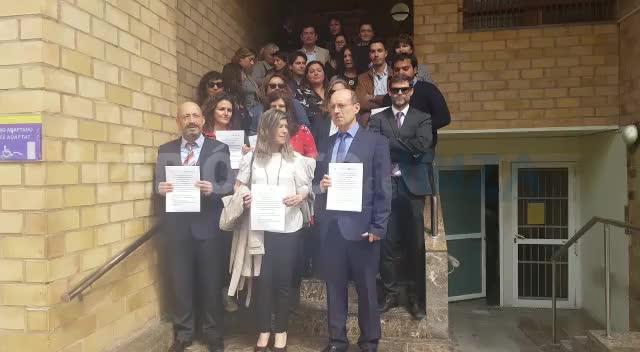 Jueces y fiscales de Ibiza secundan los paros para reclamar más medios para una Justicia digna