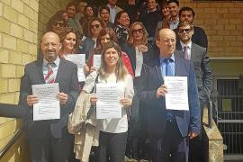 Jueces y fiscales de Ibiza secundan los paros por una «Justicia de calidad y con más medios»