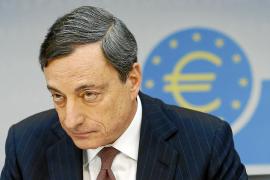 """Draghi advierte de la moderación """"generalizada"""" de la economía de la zona euro"""