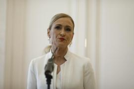 Cristina Cifuentes presenta su renuncia como presidenta del PP de Madrid