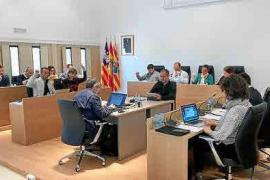 GxF y PSOE votan a favor de extender la zona azul a es Pujols, Sant Francesc y Sant Ferran