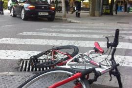 Balears es la quinta provincia de España con más accidentes de ciclistas desde 2012