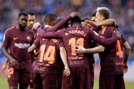 El Barça, campeón invicto en Riazor