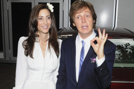 Paul McCartney y Nancy Shevell