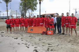 Comienza la temporada de baño y el servicio de salvamento en Sant Antoni