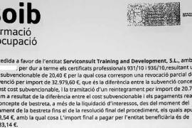 Alfonso Molina incrementó «de forma ficticia y fraudulenta» los costes de los cursos a parados