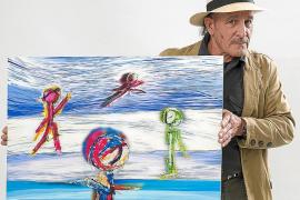 La figuración lírica y abstracta de Miquel Farriol en Can Jeroni