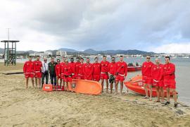 Sant Antoni ya tiene activado el servicio de socorrismo de playas