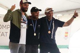 Albert Solé, segundo en la Copa del Mundo de canoa polinésica