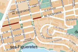 La avenida de España de Ibiza se cerrará al tráfico este sábado