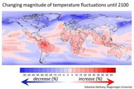 La variación climática se cebará sobre todo con los países más pobres