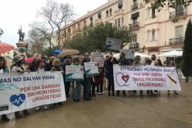 'Mos Movem' exige en Ibiza la retirada del decreto del catalán