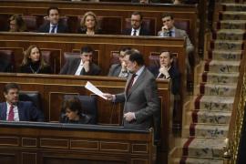 Rajoy hablará en el Congreso de la crisis en Madrid, la corrupción y el bloqueo político en Cataluña