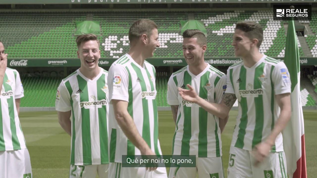 Joaquín habla en italiano (o casi) en la última campaña del Real Betis