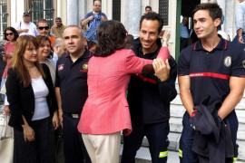 Bomberos sevillanos de Proem-Aid llegan al tribunal de Lesbos