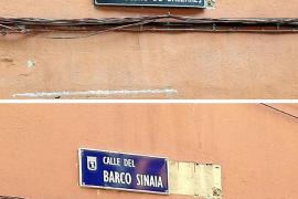 El barco 'Sinaia' se queda con la calle del crucero 'Baleares' de Madrid