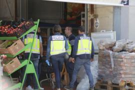 Operación policial en una empresa de Son Bugadelles por tener carne en mal estado