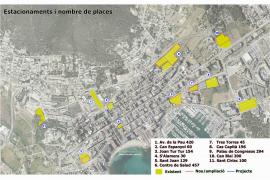 Santa Eulària habilita 165 nuevas plazas de aparcamiento