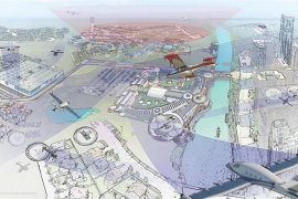 Uber planea con la NASA el taxi volador