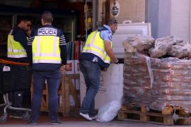 Detienen a cuatro personas relacionadas con la distribución de carne en mal estado en Calvià