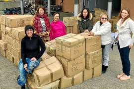 SOS Refugiados Ibiza organiza una nueva recogida de material humanitario